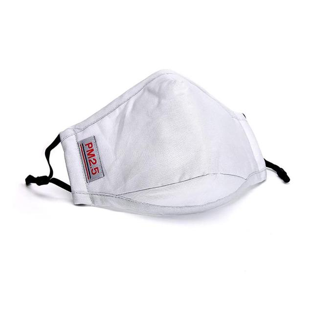 1/2/3pcs Breathable Cotton Mouth Mask Unisex Anti Dust Washable PM 2.5 Filter Mask Face Mouth Cover For Outdoor