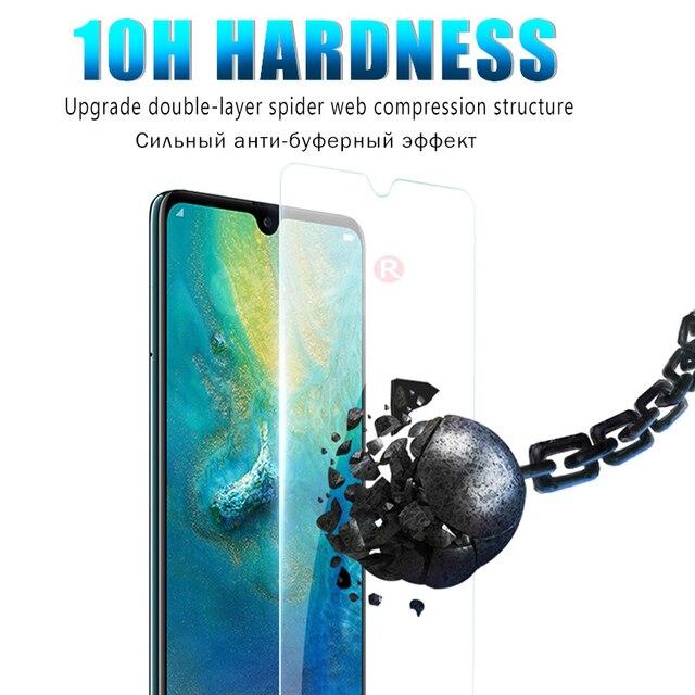1-3 sztuk jasne szkło hartowane dla huawei P30 P20 mate 20 10 lite pro screen protector dla P10 lite P Smart 2019 HD folia na cały telefon
