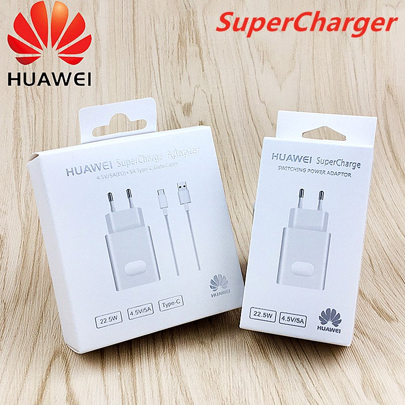<font><b>Huawei</b></font> <font><b>supercharge</b></font> Original Charger 5V/4.5A power travel charging <font><b>adapter</b></font> for p10 p20 /honor 10 Mate 9 10 20 Pro v10 v20 note 10 image