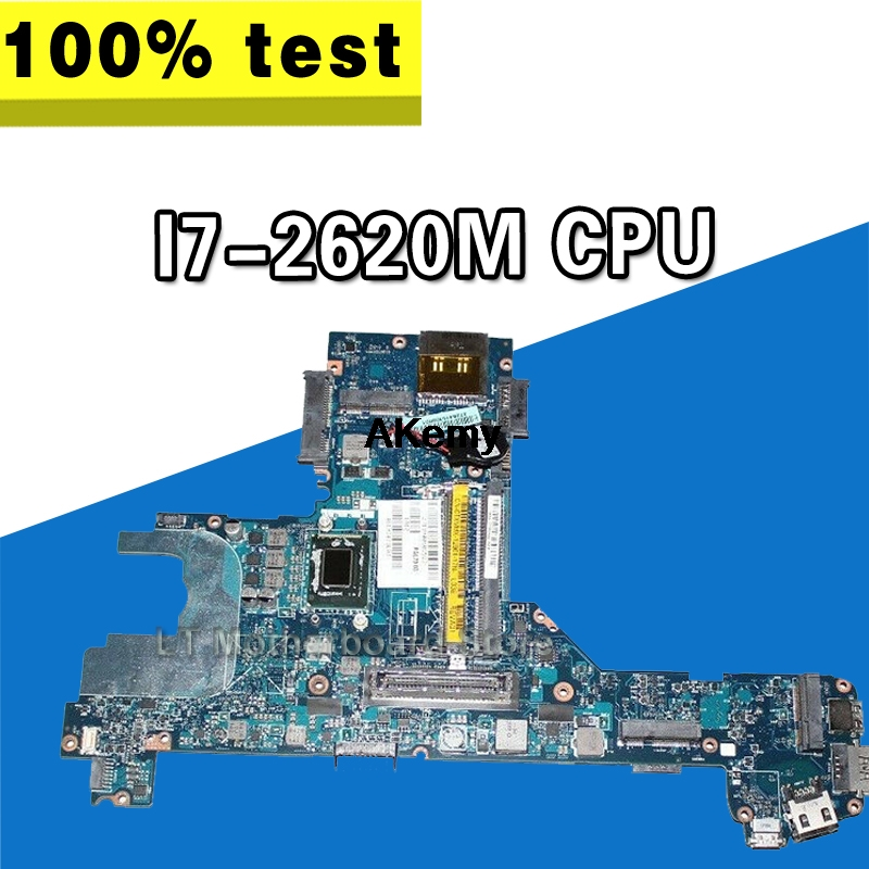 FOR DELL Latitude E6320 Laptop Motherboard With <font><b>I7</b></font>-<font><b>2620M</b></font> CPU Y45W5 0Y45W5 CN-0Y45W5 PAL70 LA-6611P Tested image