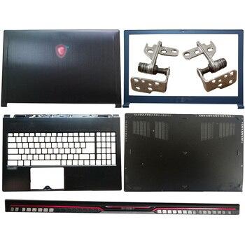NEW For MSI GS63 GS63VR MS-16K1 MS-16K2 Laptop LCD Back Cover/Front Bezel/Hinges/Hinges Cover/Palmrest/Bottom Case new for msi ge73 ge73vr 7rf 006cn laptop lcd back cover front bezel hinges hinges cover palmrest bottom case 3077c1a213hg017