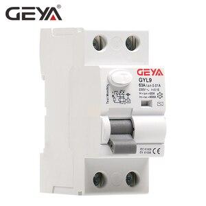 Image 4 - GEYA GYL9 Disyuntor de corriente Residual, interruptor de seguridad 4P 40A 63A 100A, Envío Gratis