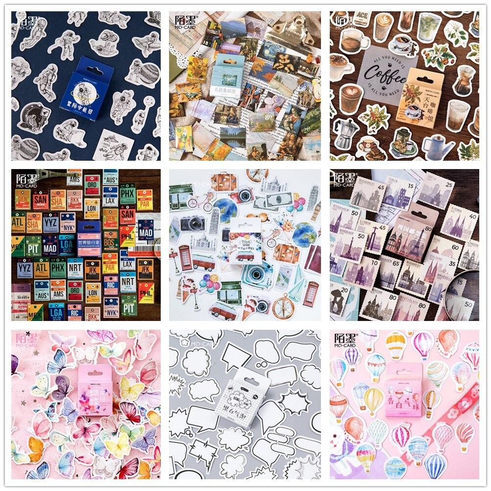 (42 estilos podem escolher) selo da floresta encaixotado adesivos diy scrapbooking papel diário planejador álbum selo do vintage decoração @ TZ-0