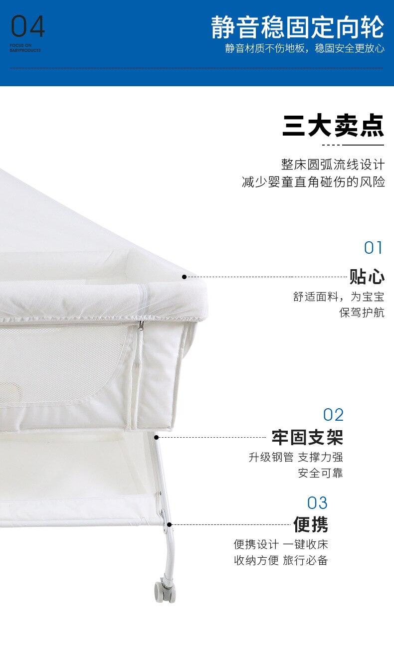 portátil mosquito net berço tecido oxford berço