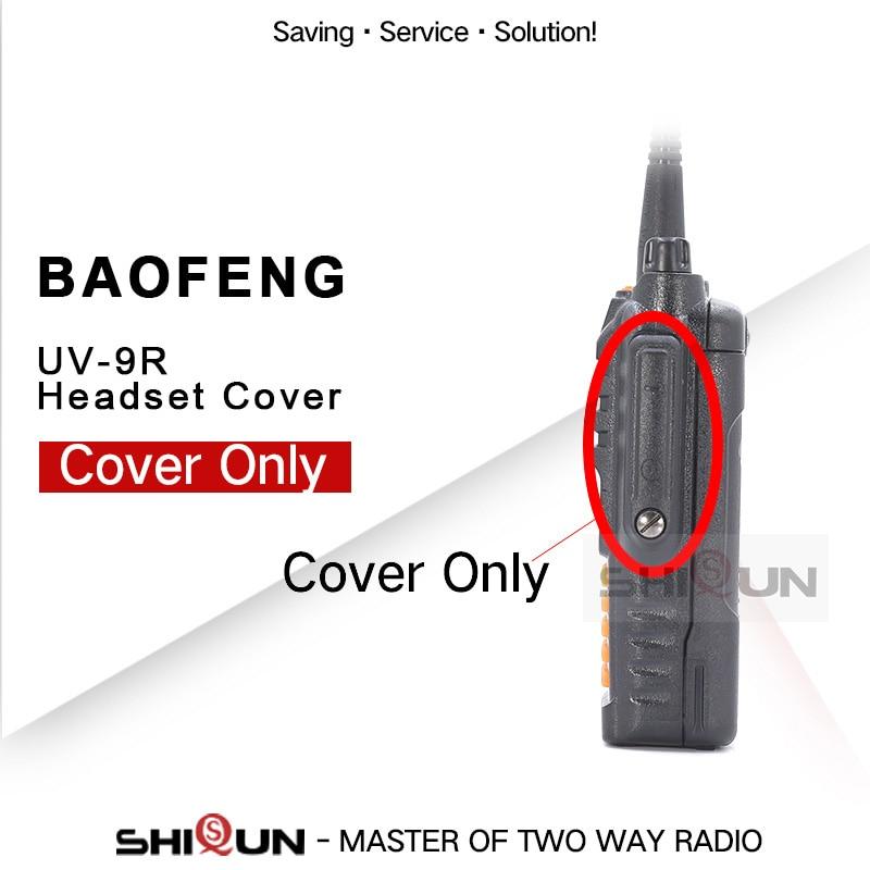 Baofeng Walkie Talkie Accessory UV9R Walkie UV-9R UV-9R Headset Mic Jack Cover Only UV-XR UV-5R WP UV-5S