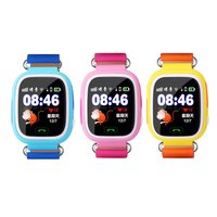 Q90 Smart Child Watch Color Screen GPS Wifi Tracker SOS Call Anti Lost Monitor Phone Call Wristwatch for Kids GIFTS 2019