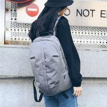 Estilo de rua do sexo feminino mochila de escola de náilon mochila de viagem estudante universitário bagpack adolescente mochila de escola