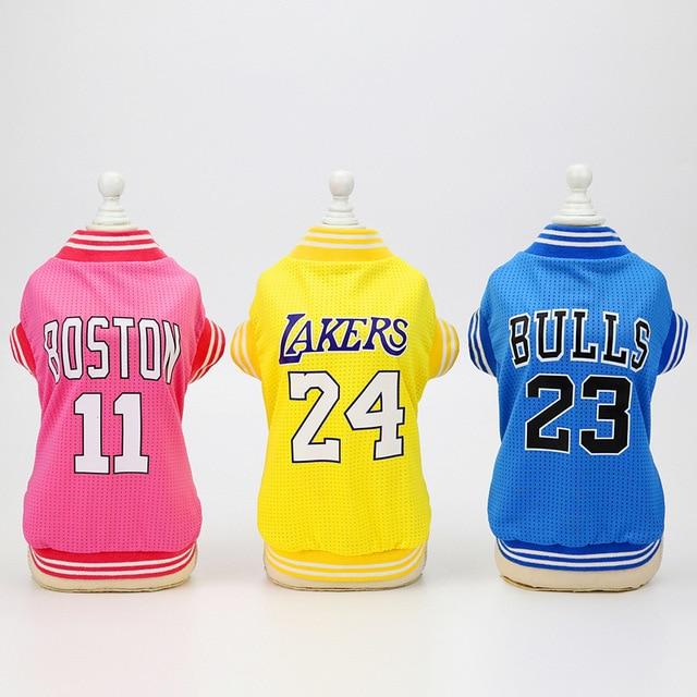 Dog Basketball Jerseys 4