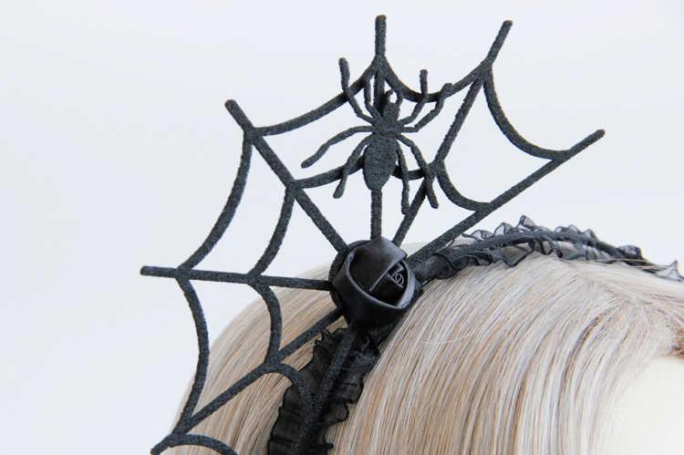 Ngộ Nghĩnh Halloween Đầu Quỷ Dĩa Nữ Mạng Nhện Tóc Hoa Hoop Đảng Đồ Trang Trí Quán Quân Mới Phụ Kiện Tóc 1111