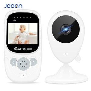 Image 1 - 2.5 인치 무선 베이비 모니터 비디오 컬러 베이비 보모 보안 카메라 나이트 비전 온도 음악 LCD 모니터 베이비 카메라