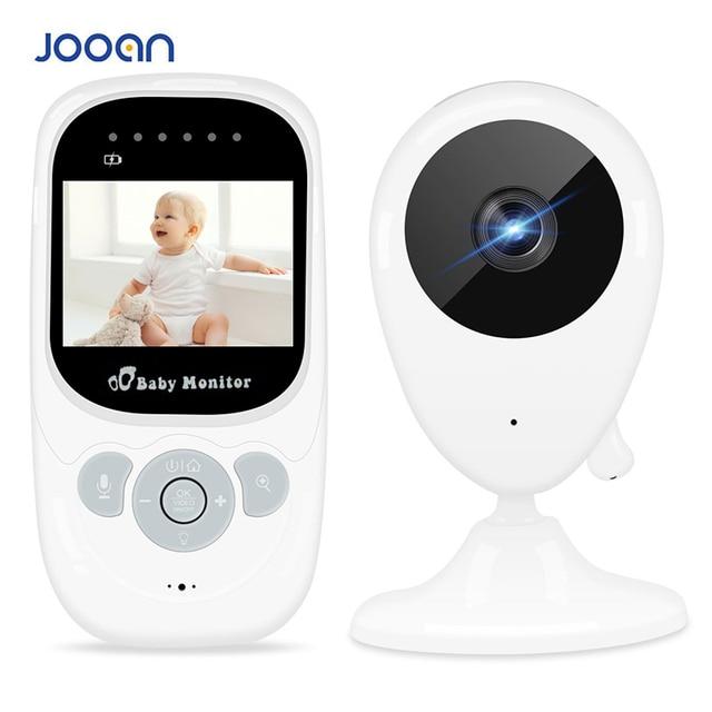2.5 인치 무선 베이비 모니터 비디오 컬러 베이비 보모 보안 카메라 나이트 비전 온도 음악 LCD 모니터 베이비 카메라