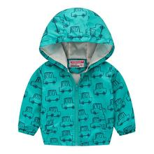 New Kids Coats Toddler Baby Boys Girl Long Sleeve Floral Print Zipper Hooded Winter Coat Jacket недорого