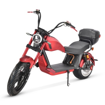 2021 Factory Supply EU Warehouse 2000W 20Ah Hydraulic Shock Absorber Adult Citycoco Electric Motorcycle Scooter 1