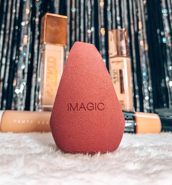 IMAGIC 10 Pack Makeup Mixer Soft Water Sponge Puff Professional Makeup Puff Sponge for  Makeup  Get bigger Combination packages 2