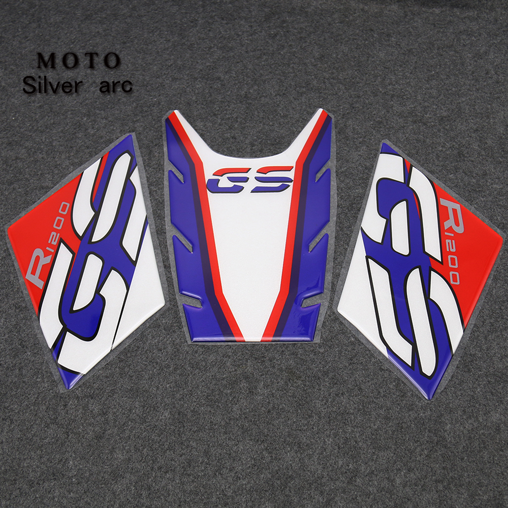 R1200GS motorcycle accessories anti-slip tank Pad sticker protection pads for BMW R1200GS R1200 GS R 1200 GS 2005-2012 2011
