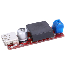 цена на Buck Power Supply 7V-24V to 5V/3A DC-DC Step Down Power Supply Module Buck Converter with USB Port