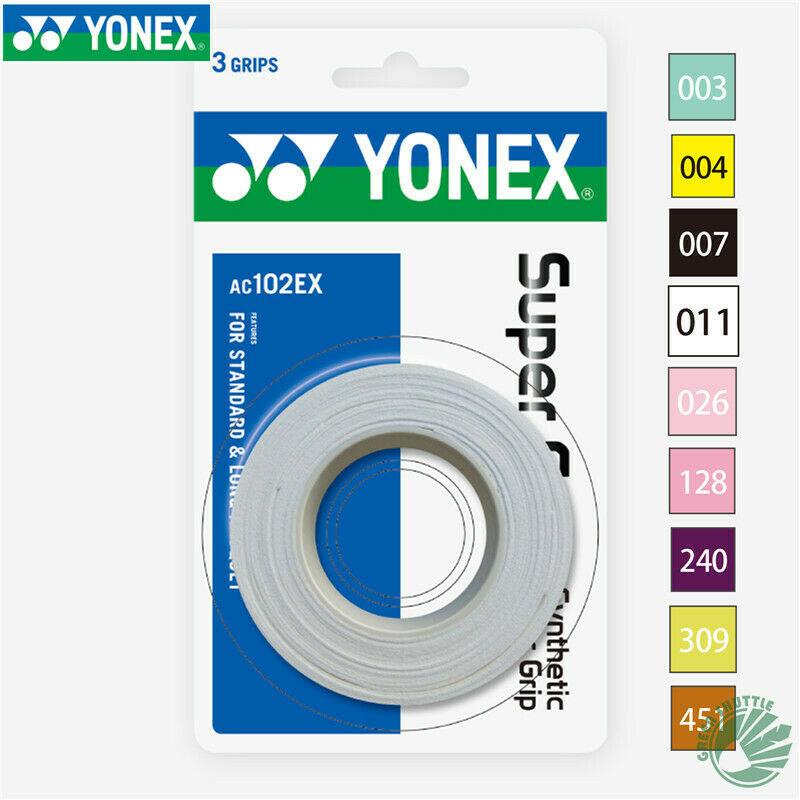 Original Yonex Racquet Sport Badminton Accessories AC102C Professional 3 Grips