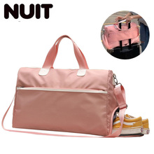 Female Gym Travelling Carry-on Bag Woman Nylon Sport Bags Dry Wet Handbags For Women Shoes Ladies Travel Hand Luggage