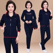 6XL 3PCS Autumn Winter Women Sport Suit Zip Up Jacket Sweatshirt+coat+pant Casual Jogger Running Outfit Set Sportswear Tracksuit