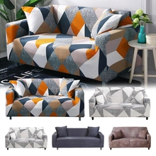 Stretch Sofa Slipcover Elastic Sofa Covers for Living Room Funda Sofa Chair Sectional Couch Cover Home Decor 1/2/3/4-seater