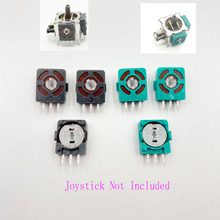 100PCS Green Grey Part For  XBOX360 PS2 Controller Analog Axis Resistors Replacement 3D Joystick Micro Switch Button
