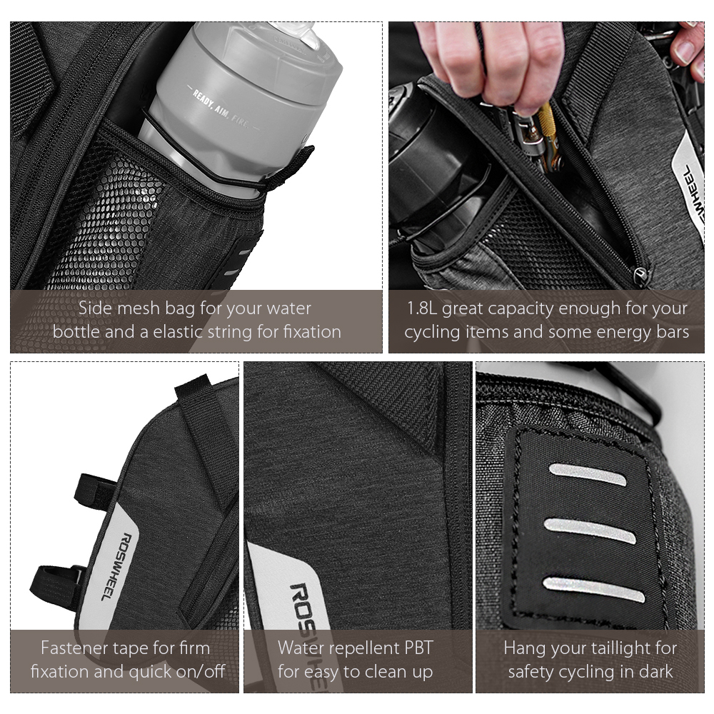 LOHAS SERIES Bicycle tail bags Bike kettle saddle bag New product Cycling Equipment