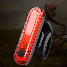 цена на USB Bike Rear Light Waterproof Cycling Taillight Led Rechargeable Riding Rear Light MTB Bike Warning Bicycle Light
