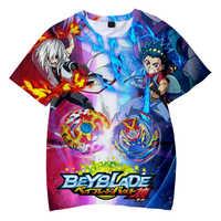 3D Beyblade Burst Evolution Gedruckt Kinder T-shirts Sommer Kurzarm T shirts 2019 Casual Kühlen Streetwear Kinder T shirts