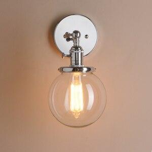 Image 2 - Permo 5.9 Vintage Wandlamp Moderne Glazen Wandkandelaar Wandlampen Armaturen Armatuur Loft Nachtkastje Spiegel Lamp Trapverlichting