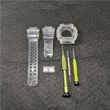 GX56 고무 스트랩 스포츠 방수 시계 스트랩에 대 한 실리콘 시계 밴드 교체 투명 시계 밴드 베젤 시계 밴드 도구