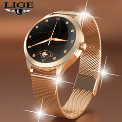 LIGE 2021 New Luxury Branded fashion for Sport women men's watch electronic Wrist watch lady Personalized digital clock Bracelet
