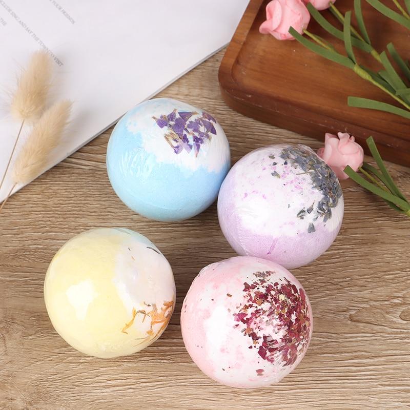 Soap Handmade Essential Oil Soap Moisturizing Bath Salt Soap Bubble Shower Bombs Ball Body Cleaner Spa
