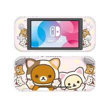Rilakkuma Korilakkuma Nintendoswitch Lite עור מדבקות Pegatina Nintend מתג לייט מדבקת Adesivos עבור Nintendo מתג לייט