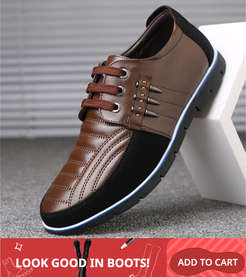 Merkmak homens quentes sapatos de couro genuíno design elástico banda sólida tenacidade confortáveis sapatos masculinos tamanho grande 48 calçados planos