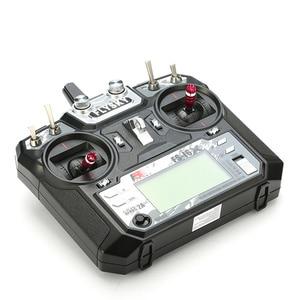 Image 4 - FLYSKY transmisor para Dron de carreras con visión en primera persona, FS i6X i6X 2,4G, 10 canales, AFHDS 2A, receptor X6B iA6B A8S V2