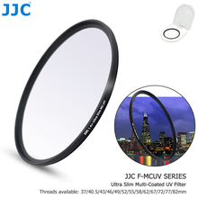 JJC Camera Lens Filter MC Ultra Slim Multi Coated UV Filter 37mm 40.5mm 43mm 46mm 49mm 52mm 55mm 58mm 62mm 67mm 72mm 77mm 82mm