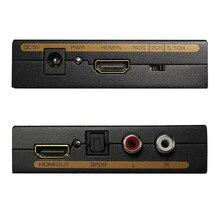 HDMI Audio extracteur convertisseur 5.1CH Audio séparateur 1080P stéréo analogique HDMI vers HDMI optique SPDIF RCA L/R adaptateur convertisseurs