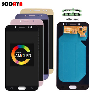 Image 2 - 5.5 AMOLED Dành Cho Samsung Galaxy Samsung Galaxy J7 2017 Màn Hình J730 J730F J730M J730Y Màn Hình Hiển Thị LCD + Tặng Bộ Số Hóa Màn Hình Cảm Ứng Kính Cường Lực bảng Điều Khiển J730 Màn Hình LCD