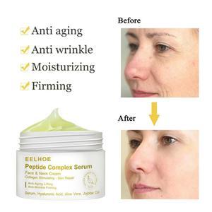 50g Whitening Face Cream Anti Wrinkle Peptide Essence Cream Acne Scar Removal Cream Facial Lifting Firming Serum Day Night Cream