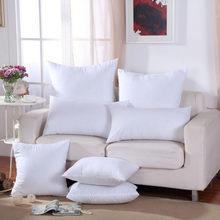 54 clássico 9 tamanho sólido puro almofada núcleo engraçado macio cabeça travesseiro interior pp algodão enchimento personalizado cuidados de saúde almofada enchimento