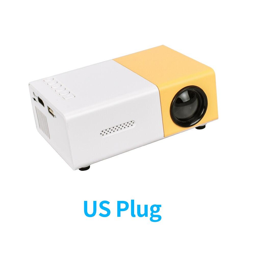 Yellow US Plug