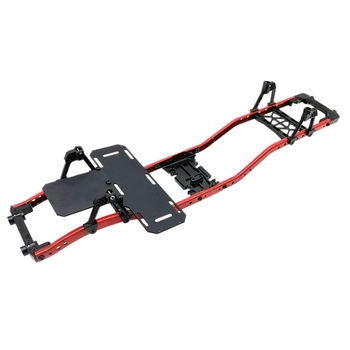 The Front and Rear Bumper Shock Absorber Bracket Beam Assembly of 313 Axle Base Frame of Climbing Vehicle Is Suitable for SCX10