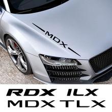 Samochód całe wykończenie nadwozia naklejki dla Acura CDX ILX MDX NSX RDX RL Sport RLX TL TLX TLX L TSX ZDX akcesoria samochodowe Vinyl Film naklejka