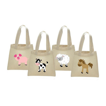 Barnyard Farm Animal Party Favor Candy gift Bag Birthday Baby Shower Gender Reveal table centerpiece present decoration Supply