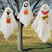 Новейшее украшение для Хэллоуина мини с тремя призраками пальчиковые