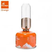 Огненный клен оранжевый газовый фонарь Открытый Пропан изобутан топливный свет для кемпинга Пешие прогулки альпинизмом романтическая атмосфера газовая лампа