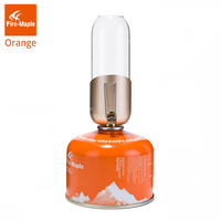 Fire Maple Orange Gas Lantern Outdoor Propane Isobutane Fuel Lights For Camping Hiking Backpacking Romantic Ambiance Gas Lamp