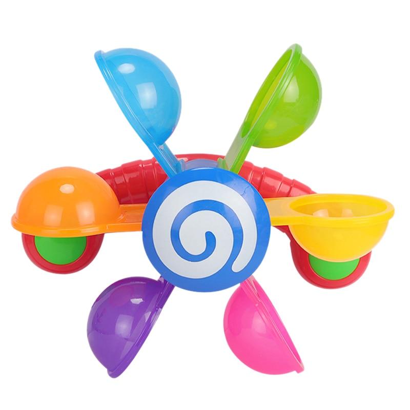 Hot-Baby Bath Toys Play In Scoop Water Mini Windmill Waterwheel Toddler Bathroom Bathtub Bathing Toy Kids Summer Swimming Pool G