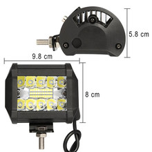 "Work Light Flood Spot Combo Off-road Driving Fog Lamp Boat SUV 4"" Inch 60W 20LED(China)"
