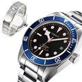 Corgeut41мм часы мужские военные Miyota8215 механические наручные часы водонепроницаемые спортивные автоматические часы relogio часы